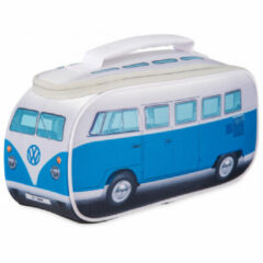 VW Collection - VW T1 Bus Brotzeittasche - Voedselbewaring maat 30 x 15 x 12 cm, grijs/blauw