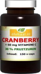 Elvitaal Cranberry + 60 Mg Vitamine C (150st)