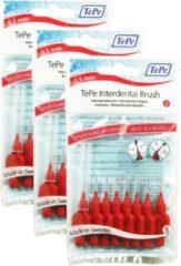 TePe Origineel Rood - 0,5mm - Ragers - 3 x 8 stuks - Voordeelverpakking