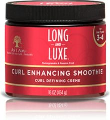 As i am naturally As i Am Long and Luxe Curl Enhancing Smoothie Curl Defining Creme 454gr