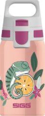 Sigg Drinkbeker Flora Meisjes 0,5 Liter Rvs Zalmroze