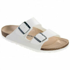 Witte Birkenstock Women's Arizona Slim Fit Double Strap Sandals - White - EU 36/UK 3.5 - White