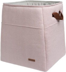 Baby's Only Opbergmand Sparkle zilver-roze mêlee