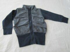 Marineblauwe Dirkje , meisje, gilet , marine streep , college , 116 - 6 jaar