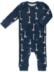 Blauwe Fresk pyjama zonder voet Giraf indigo blue