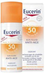 Eucerin Sun Zonnebrand - Anti-Age Sun Fluid - SPF 50 - 50 ml