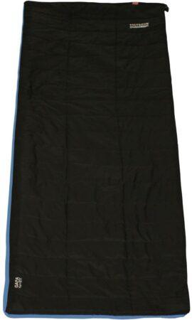 Afbeelding van Zwarte Polydaun Compact Travel Slaapzak - Gapa zwart 80x210 cm