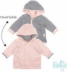 Feetje! Meisjes Vest - Maat 74 - Roze - Katoen/polyester/elasthan