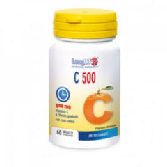 Longlife C500 t/r antiossidante e vitaminico 60 tavolette