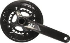 SRAM 00.6118.351.002 KurbelgarniturGX 1000 Black BB30, 170mm,38/24 Z.10-f.,ohne Lager, schwarz (1 Set)