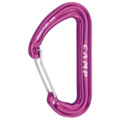 Camp - Photon Wire - Snapkarabiner roze/purper