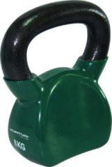 Tunturi kettlebell vinyl 8 kg groen