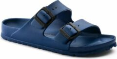 Marineblauwe Birkenstock Arizona EVA Dames Slippers Small fit - Navy - Maat 38