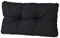Zwarte Madison Florance loungekussen rug ca. 73x43cm - Laagste prijsgarantie!