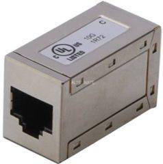 DIGITUS Professional DIGITUS Modular Adapter Kat.6A, geschirmt, 2 x RJ45 Kupplung