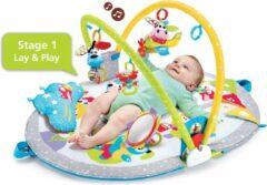 Blauwe Yookidoo Gymotion Lay To Sit Up Play speelkleed