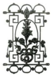 KS Verlichting Deurrooster Roos BarnR 458 KS 5310