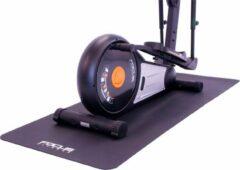 Zwarte Beschermmat Focus Fitness Vloermat - 200 x 90 cm