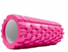 Roze #DoYourFitness Fascia rol / massage roller »Anasuya« foam roller / pilates rol / therapie roller voor zelfmassage / Meerdere kleuren verkrijgbaar. De foam rol is ideaal voor fasciale (bindweefsel) training van de rug, dijen. Afmetingen: L34cm x D14cm