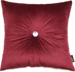 Collectione Kussen Quattro 45 x 45 cm Donker Rood