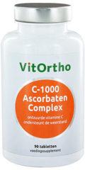 VitOrtho C-1000 Ascorbaten Complex Tabletten 90st