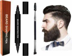 Missan Online Missan: Baardgroei Original stift FILLER (Zwart) - Baard pen - Baard groei - Natural Beard Growth Stift - Baard pen