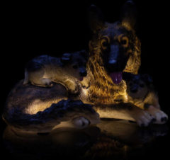 Flambiance LED-Schäferhund Famile