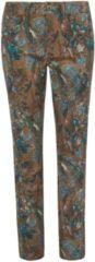 Enkellange jeans model Barbara Van Peter Hahn bruin
