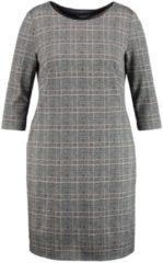 Kleid mit Glencheck-Karo Samoon Boundless gemustert