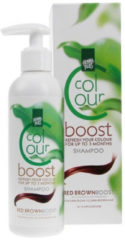 Hennaplus Colour Boost - Red Brown - 200 ml - Shampoo
