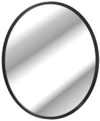 Villeroy & boch Antheus spiegel rond massief houten lijst black ash b30500pw