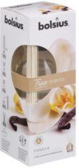 Bruine Bolsius Aromatic Geurstokjes 45ml VANILLA | True Scents Bolsius | Long lasting fragrance | geurverspreider