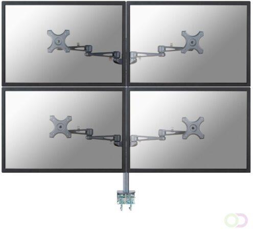 Afbeelding van Monitor-tafelbeugel NewStar Products FPMA-D935D4 25,4 cm (10) - 68,6 cm (27) Kantelbaar en zwenkbaar, Roteerbaar 4-voudig
