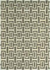 Wedgwood - Intaglio Grey 37201 Vloerkleed - 170x240 cm - Rechthoekig - Laagpolig Tapijt - Design, Retro - Beige, Grijs