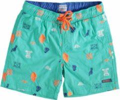 Indian Blue Jeans Indian blue groen beach short met binnenbroek - Maat 128