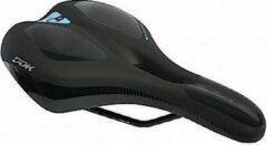 Cycle Tech Zadel Comfort Plus Ergo Sport Heren 170 Mm Zwart