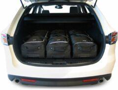 Car-Bags Mazda Mazda6 (2008-2012) 6-Delige Reistassenset zwart