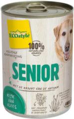 Ecostyle Blik Vitaal Vlees Senior - Hondenvoer - 400 g