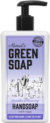 Afbeelding van Marcel's Green Soap Marcel's groen Soap Handzeep Lavendel & Rozemarijn (250ml)