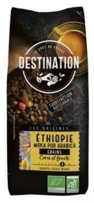 Afbeelding van Destination Koffie Ethiopie Mokka Bonen Bio (500g)