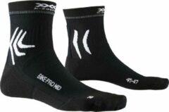 X-socks Sokken Bike Pro Mtb Polyamide Zwart/wit Maat 45-47
