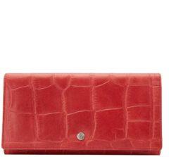 Rode Castelijn & Beerens Cocco RFID Dames Portemonnee Rood | 46 3386 RO