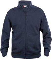 Marineblauwe Clique Basic cardigan Donker Navy maat M