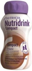Nutricia Nutridrink Compact Chocolade - 4 x 125 ml