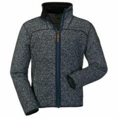 Schoffel Fleece Jacket Anchorage 2 - fleecevest - heren - blauw gemêleerd