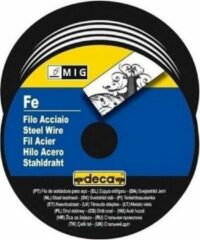 DECA-rolstaaldraad voor MIG / MAG-lasdraad � 0,8 mm 0,7 kg