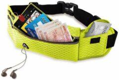 #DoYourFitness - Loopriem - »RunHero« - heuptas / ritszak voor hardlopen ,elastisch, waterdicht - mobiele telefoon tot ca. 5,5 inch - groen