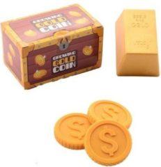 Johntoy Speelset Growing Gold Coin Junior 20 Cm 5-delig