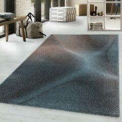 EFOR Impression Universe Design Laagpolig Vloerkleed Blauw / Koper- 120x170 CM
