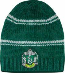 Groene Long Slytherin Slouchy Hat - Harry Potter